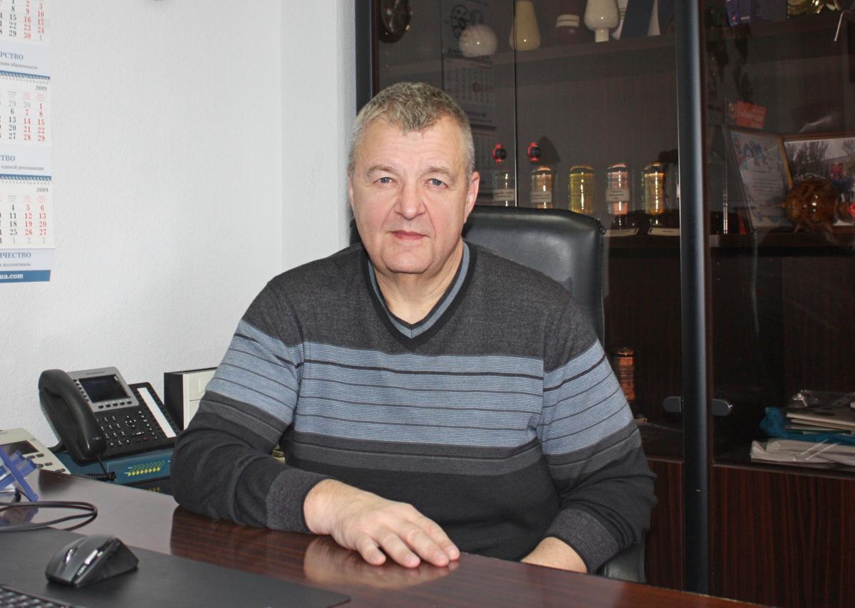 """Коммерческий директор АО """"Днепразот"""" Андрей Пустовойт"""