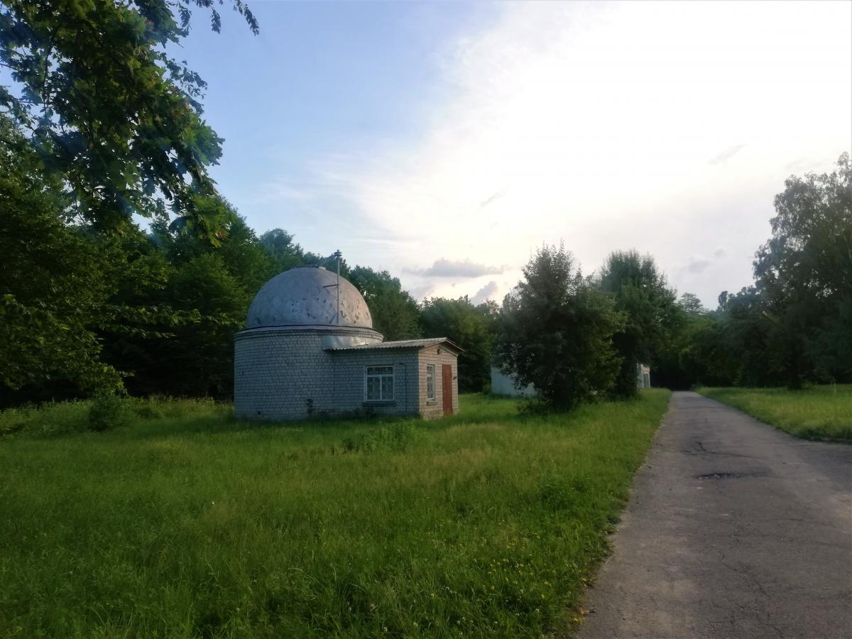 Территория Главной асторономической обсерватории / фото Марина Григоренко