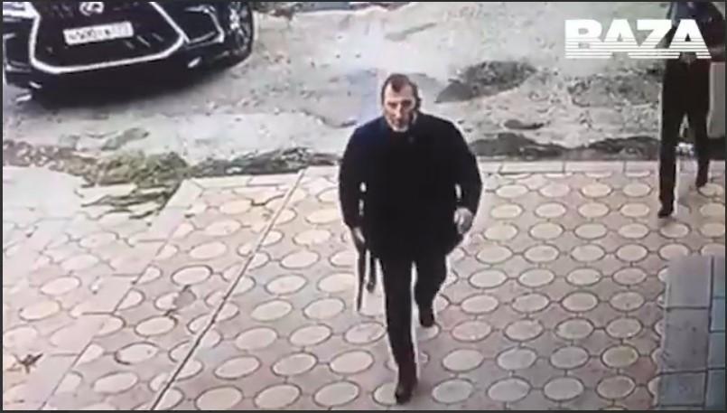 """Вбивство сталося 22 жовтня в ресторані """"Вайнах"""" / скріншот з відео"""