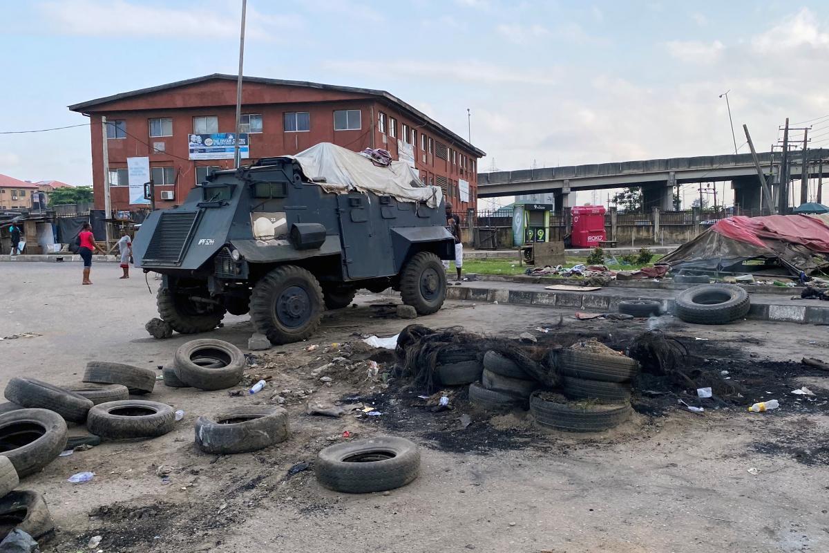 В Нигерии вспыхнули мятежи / фото REUTERS