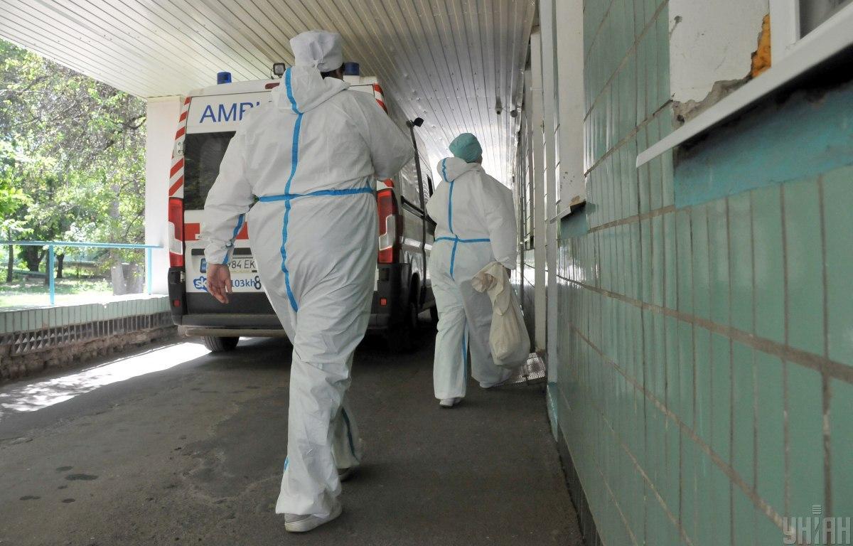 Мэрия Ивано-Франковска заявила, что инфицированных размещают в коридорах / Фото УНИАН, Андрей Мариенко