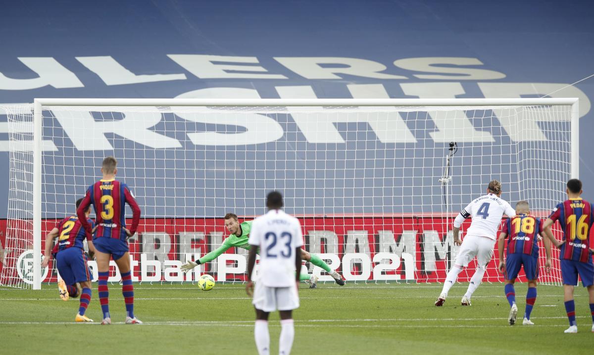 Барселона - Реал / фото REUTERS