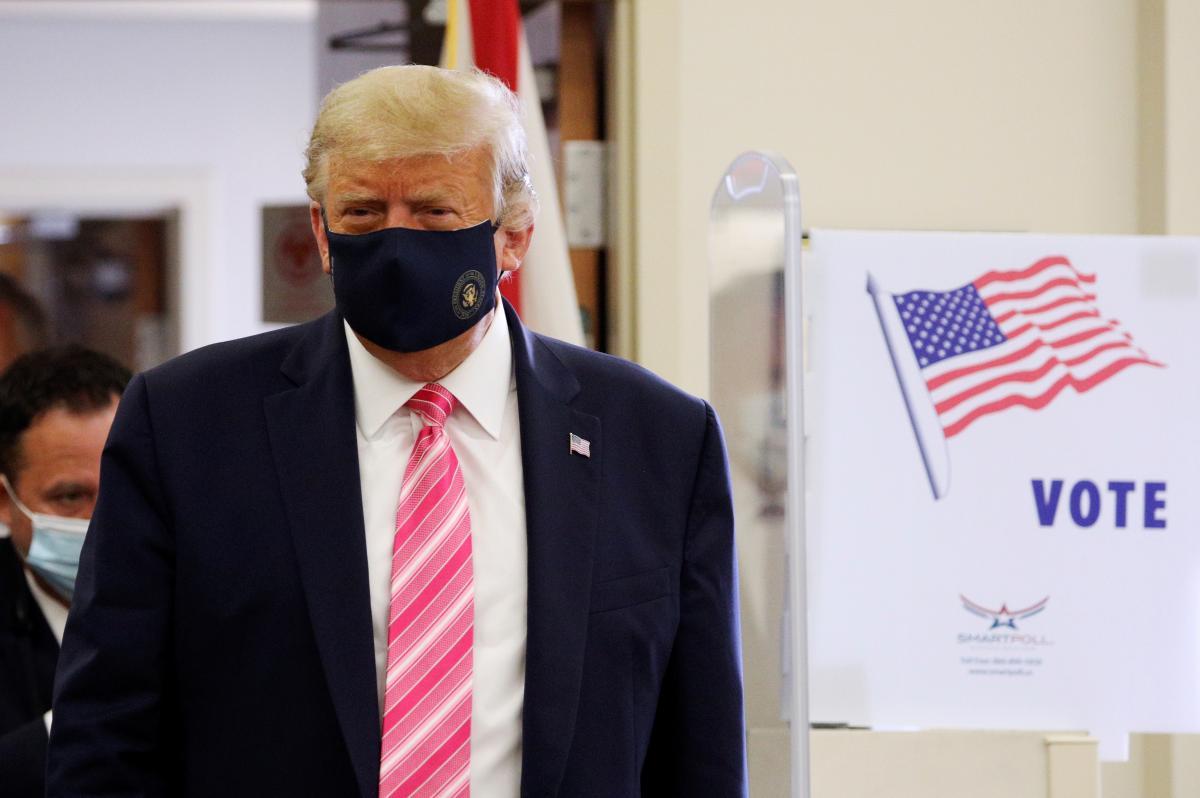 Трамп удивился подсчетом голосов / фото REUTERS