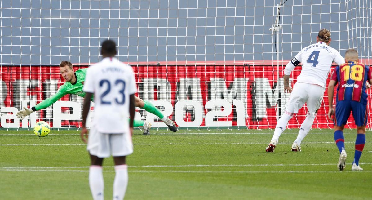 Серхио Рамос забил второй гол Реала / фото REUTERS