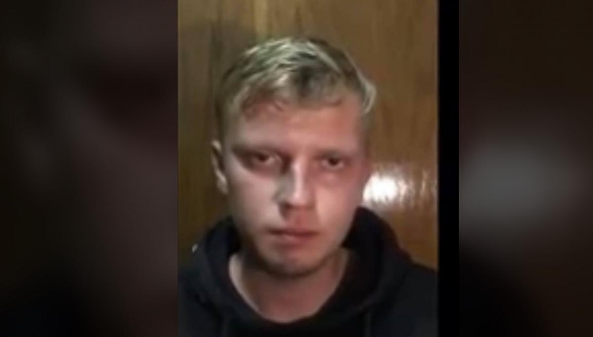 Хулиганом оказался21-летний житель Донецка Илларион Борисенко \ фото Юрий Бутусов/Facebook