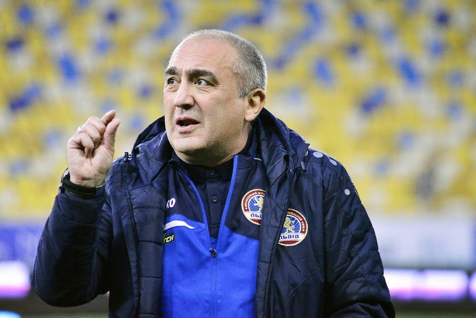 Георгий Цецадзе возглавлял Львов с июня / фото ПФК Львов