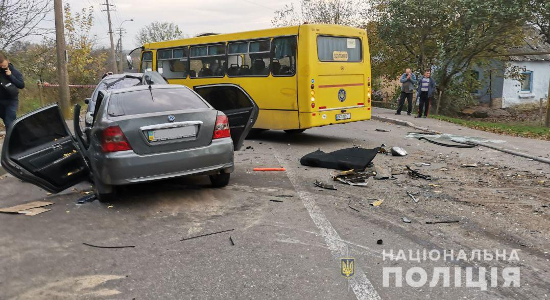 В ДТП пострадали дети/ Фото пресс-служба Нацполиции