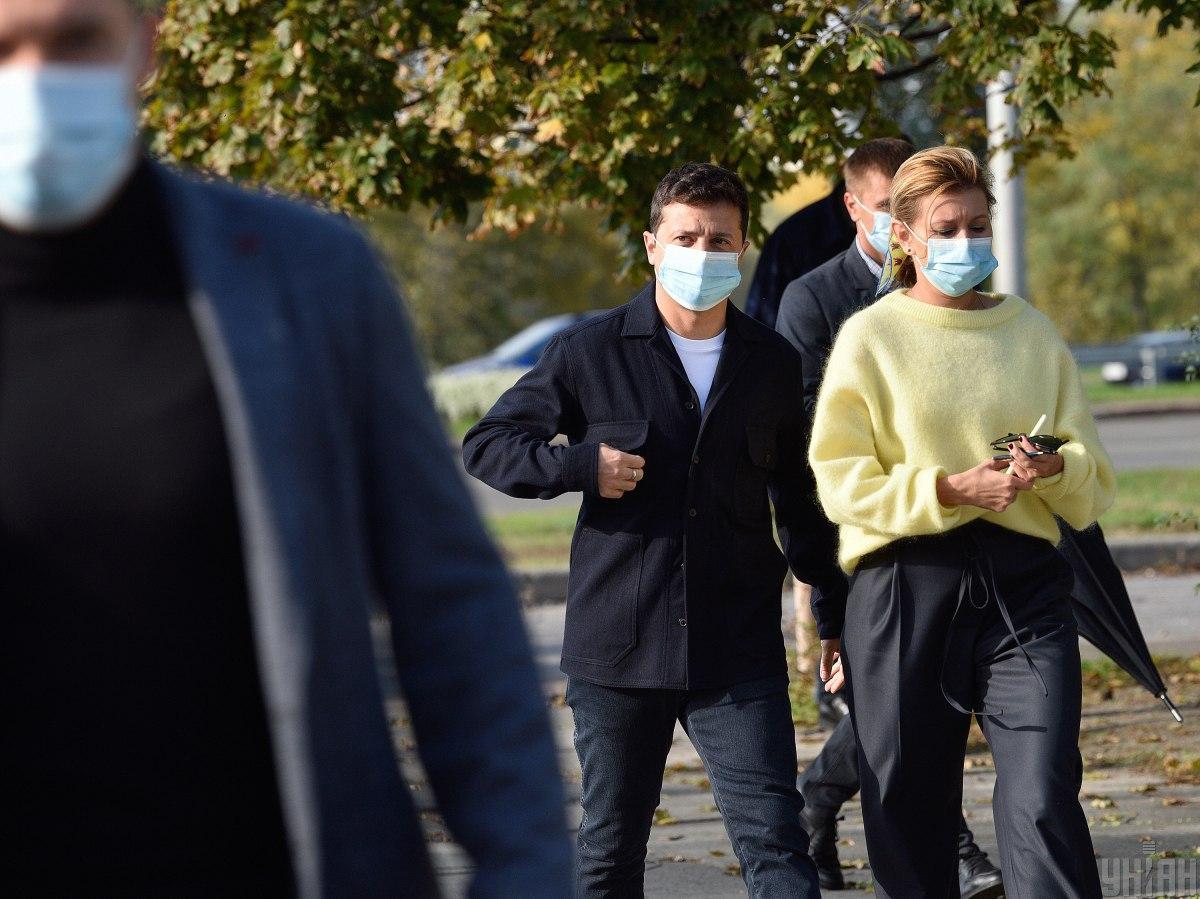 Зеленська показала модний образ / фото УНІАН