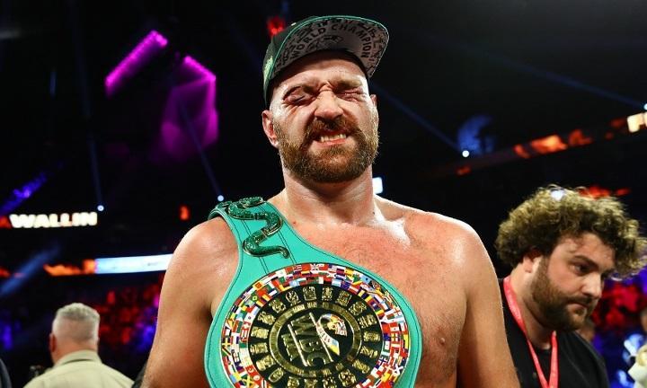 Ф'юрі битиметься на батьківщині / фото boxingscene.com