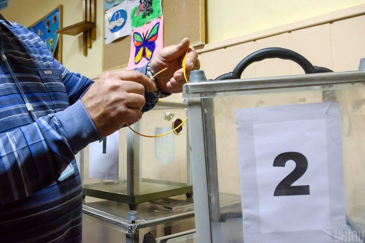 22 листопада у Львові пройшов другий тур виборів / фото УНІАН