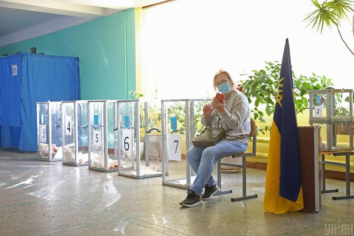 Выборыпрошли 25 октября / фото УНИАН