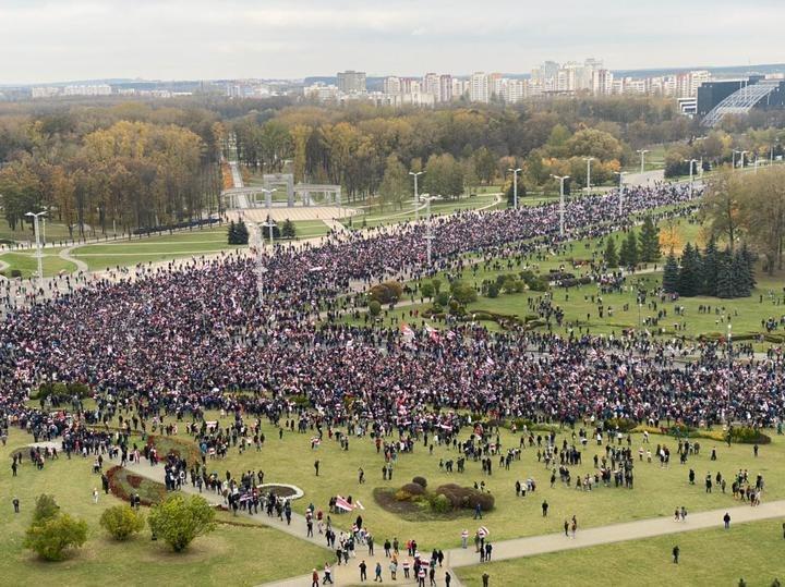 Марш у Мінську / фото t.me/tutby_official
