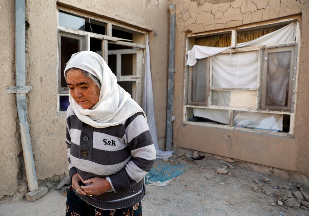 Наслідки нападу смертникау Кабулі / фото REUTERS