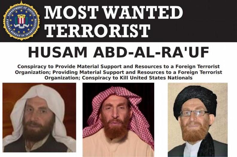 """В Афганистане уничтожили второго человека в """"Аль-Каиде"""" / скриншот FBI"""