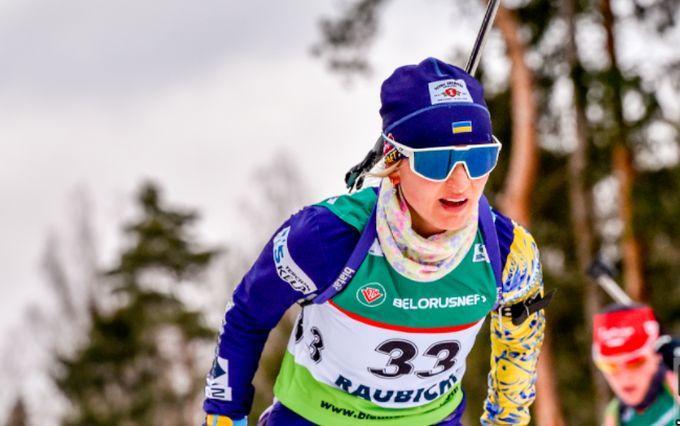 Юлія Журавок-чемпіонка Європи / фото biathlon.com.ua