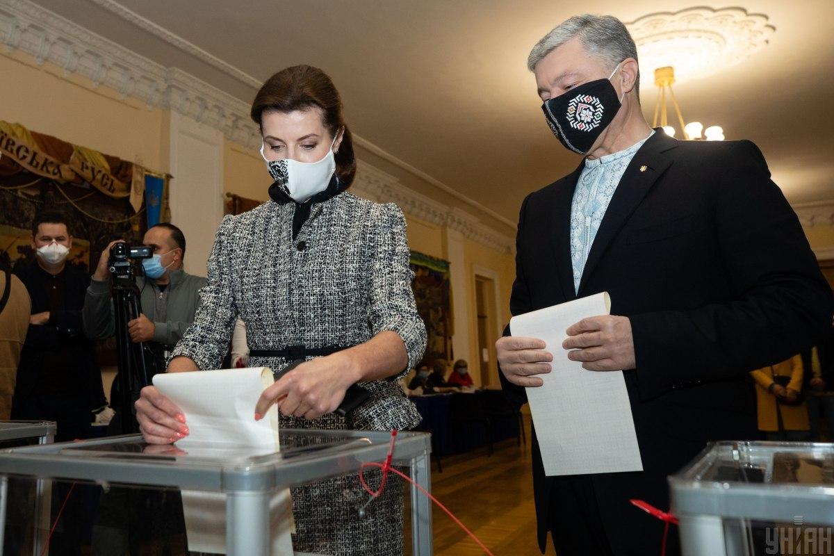 Марина Порошенко теж вирішила піти у політику / фото УНІАН, Палінчак Михайло