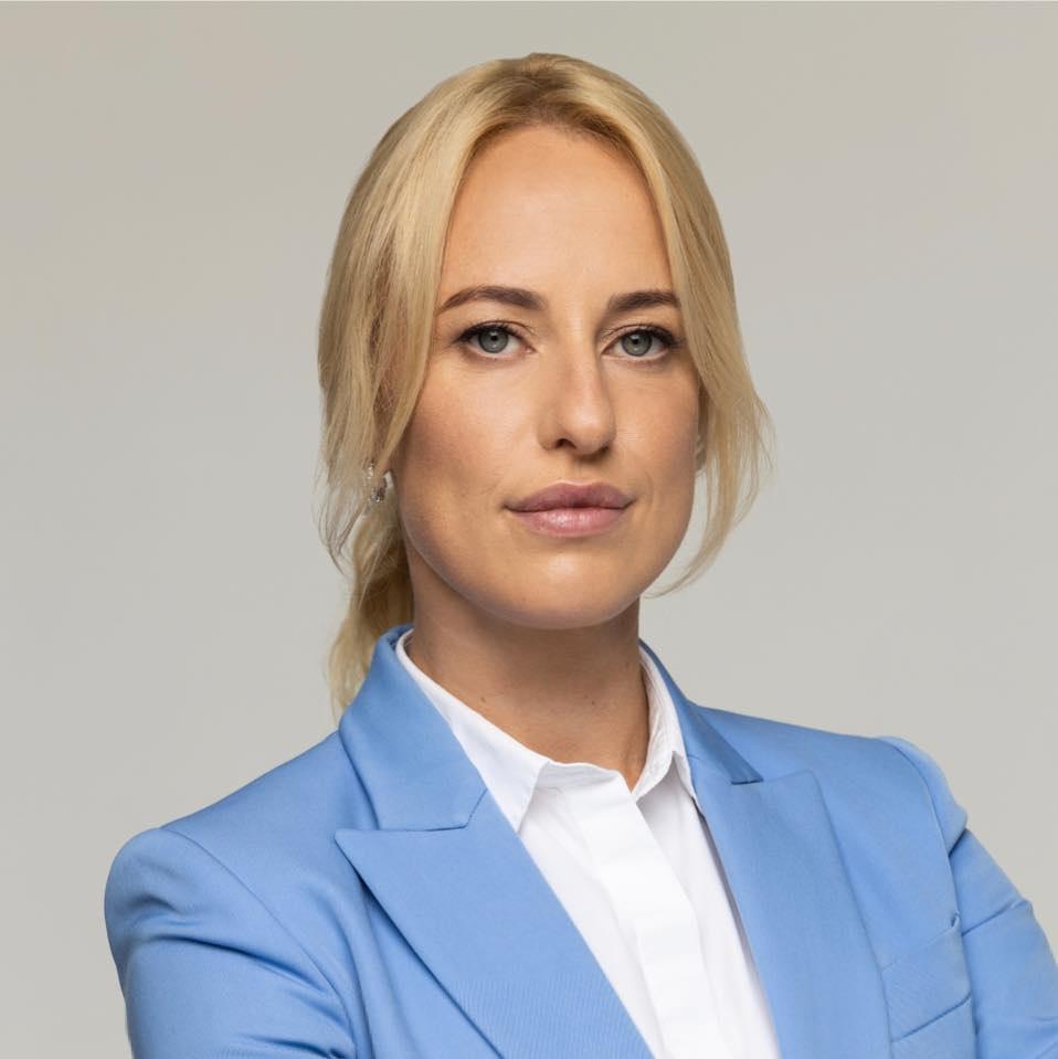 Катерина Глімбовська – кандидатка від «Батьківщини» на одному зі столичних округів / фото facebook.com/GlimbovskaK