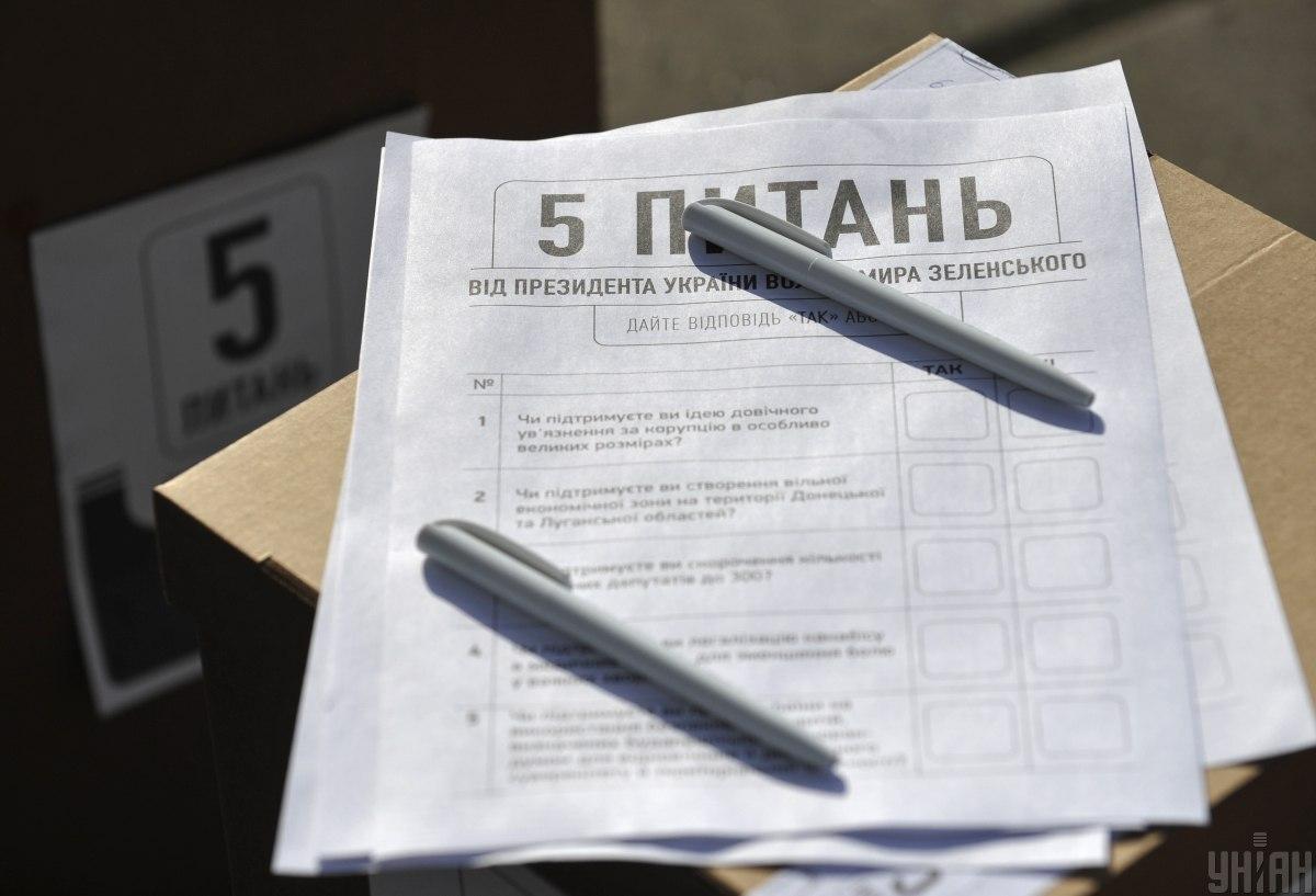 В Україні провели всенародне опитування / фото УНІАН, Сергій Чузавков