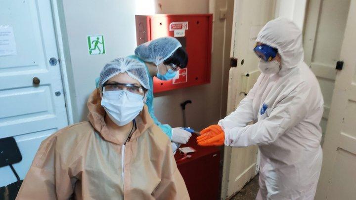 Пацієнти лікарень голосували безпосередньо у медзакладі / фото Вільне Радіо