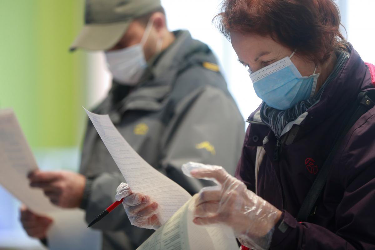 Местные выборы 25 октября в Украине / фото REUTERS