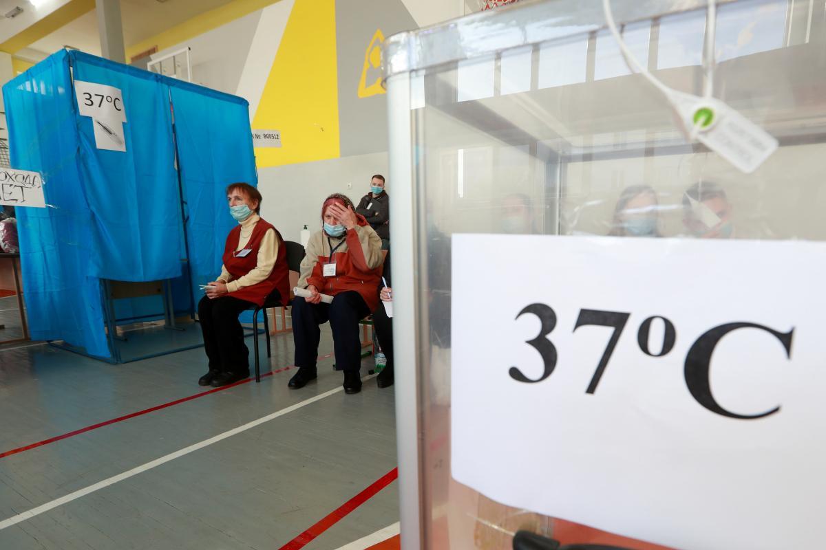 """Явка на місцевих виборах виявилася """"провальною"""" / фото REUTERS"""