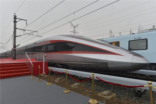 В Китае испытали скоростной поезд для широкой колеи / фото chinadaily.com.cn