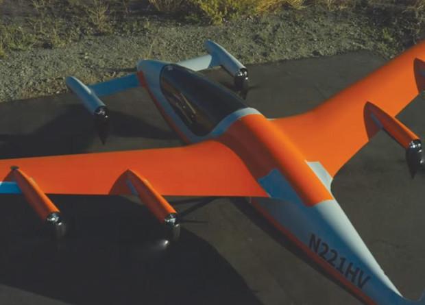 Конвертоплан Heaviside успішно випробували в США / фото Kitty Hawk