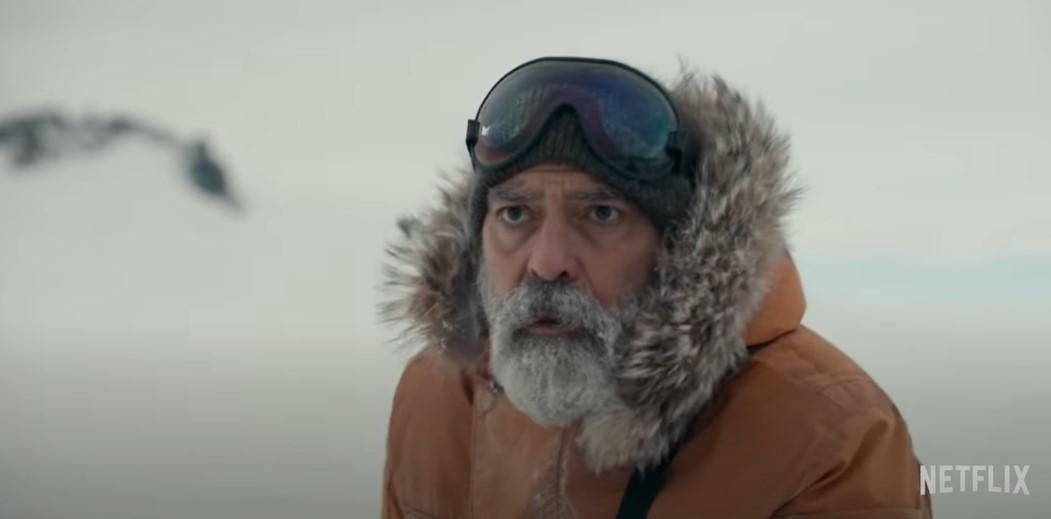 Джордж Клуни снял фантастический фильм/ Скриншот с видео