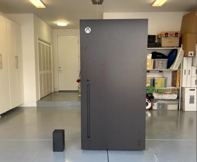 Холодильник очень большой по размеру \ @ijustine