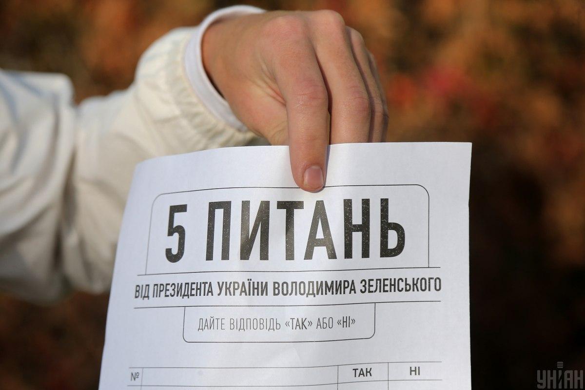 """Стали известны предварительные результаты """"Зе-опроса"""" / Ковальчук Виктор, УНИАН"""