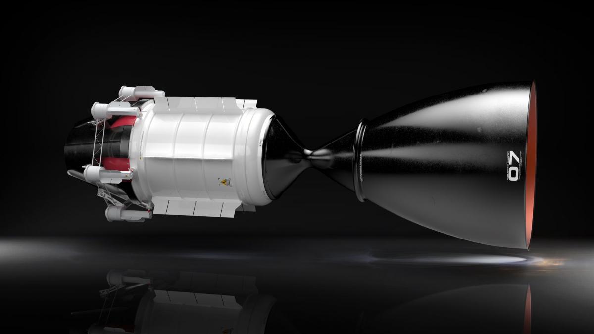 В США разрабатывают ядерный двигатель / UCNC