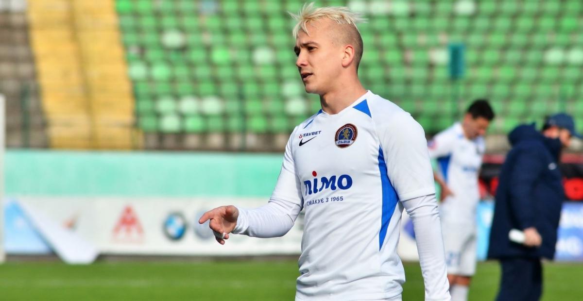 Богунов играл за Львов с прошлого года / фото footboom.com