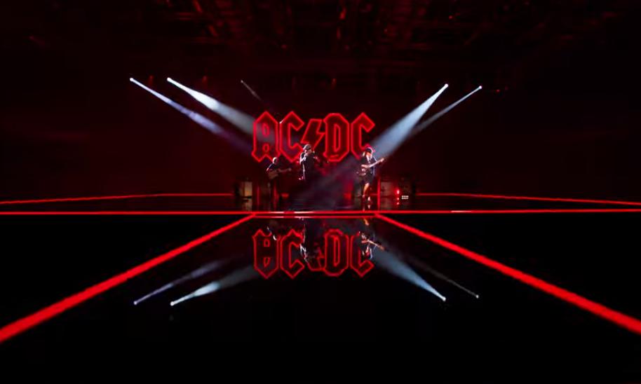 Рок-група AC/DC випустила кліп / скріншот з відео