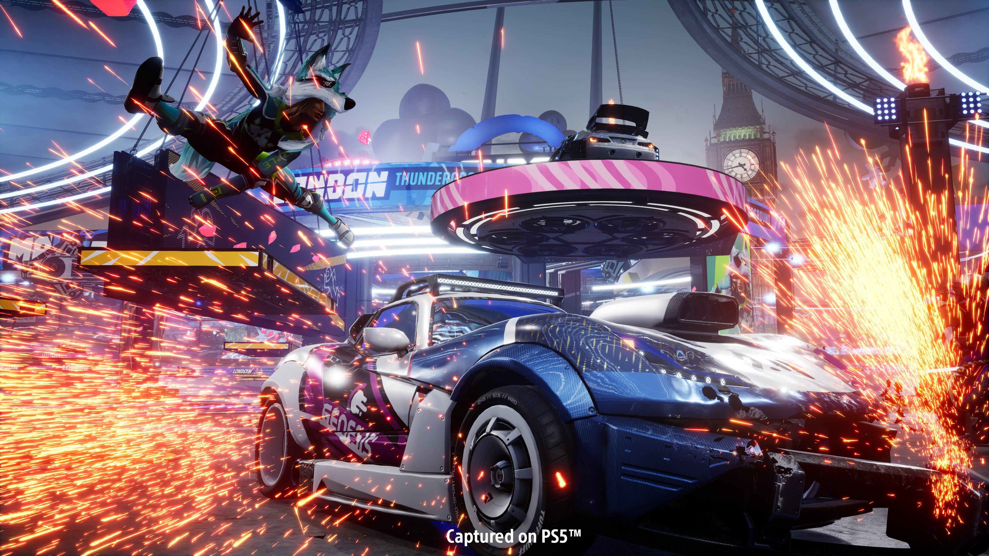 Destruction AllStars вышла в феврале этого года на PS5 /фото playstation.com