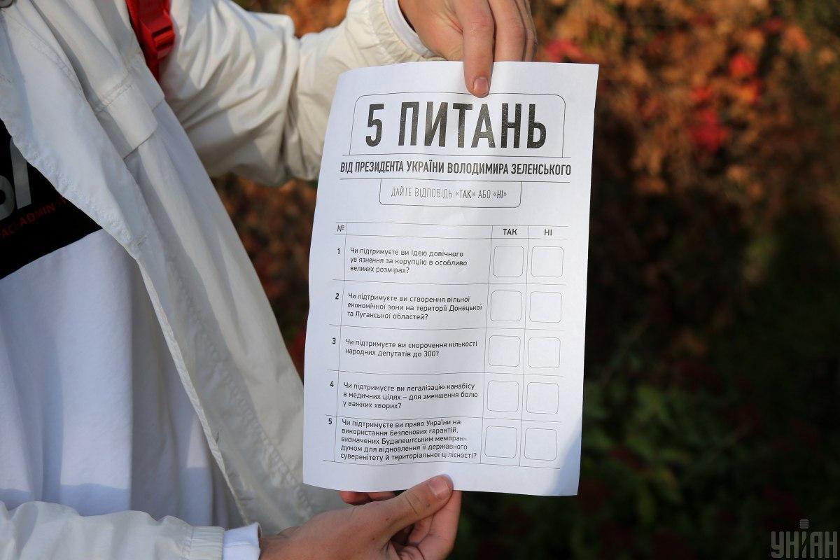 Большинство украинцев не принимали участия в президентском опросе / фото УНИАН, Виктор Ковальчук
