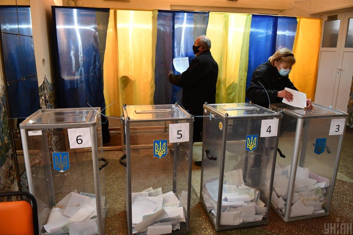 Явка на повторных выборах городских голов в Украине /фото УНИАН, Валерий Шмаков