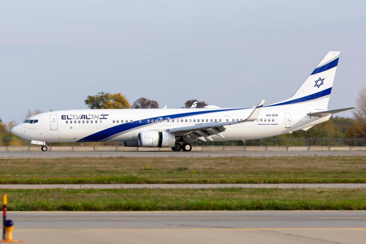 El Al Israel Airlines возобновляет рейсы в Киев / фото facebook.com/airportboryspil