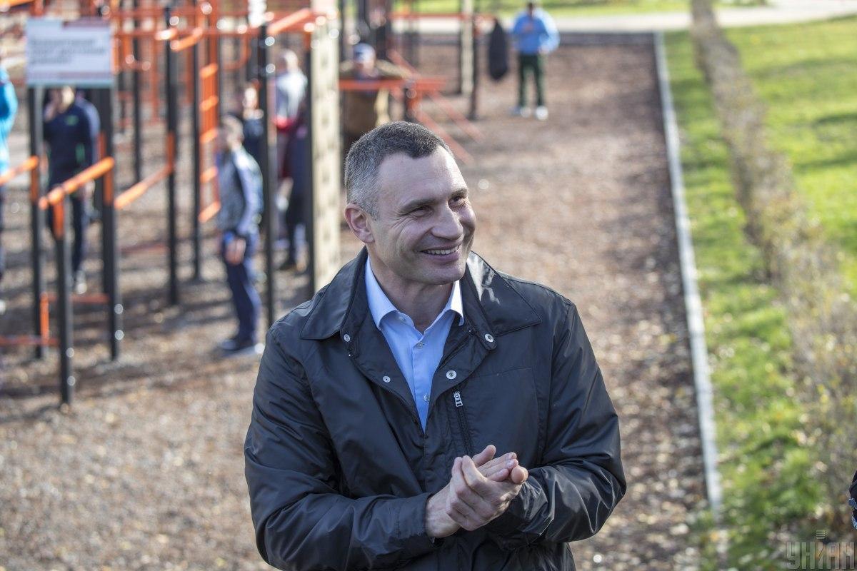 Incumbent Kyiv Mayor Vitaliy Klitschko / Photo from UNIAN, by Serhiy Skakodub