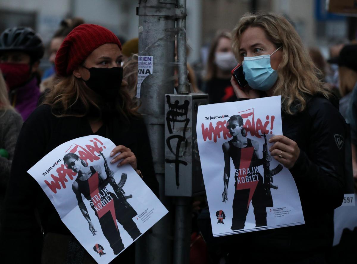 В Польше протестуют против запрета абортов / фото REUTERS