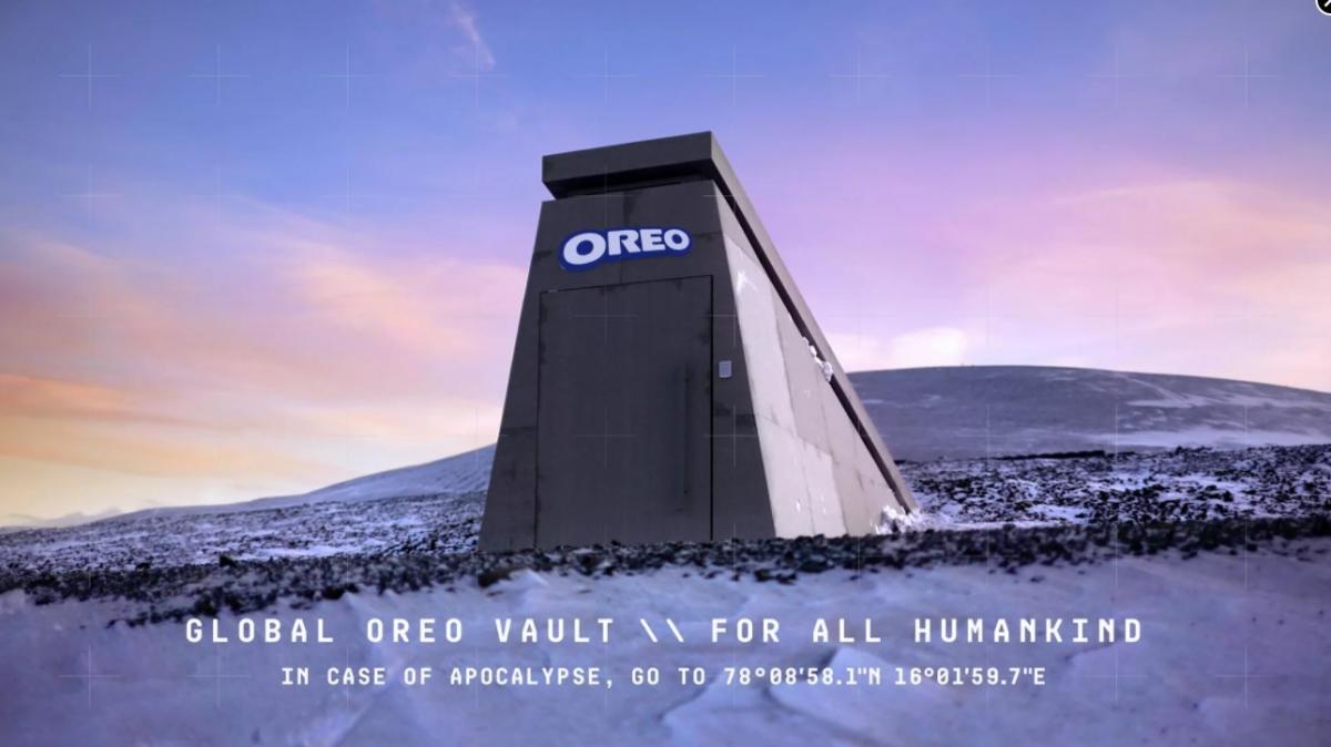 Бункер знаходиться в зоні вічної мерзлоти / фото Oreo
