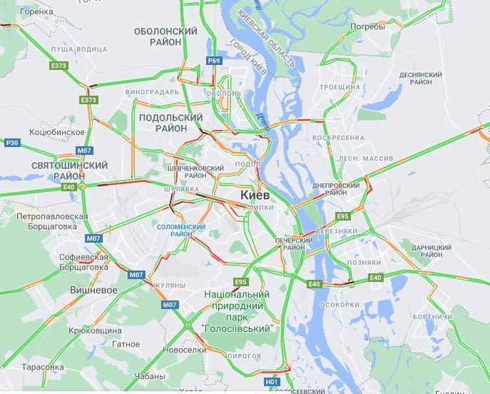 Данные google.com/maps