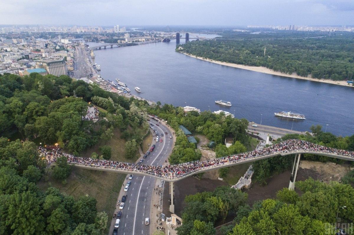 15 июня в Киеве будет теплая, немного облачная погода / фото УНИАН