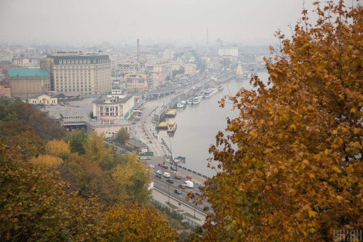Сьогодні в Києві буде похмуро / фото УНІАН