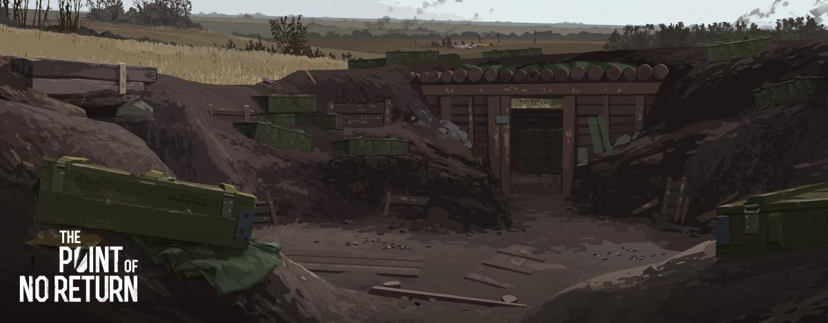 Гра від українських розробників про війну на Донбасі / скріншот