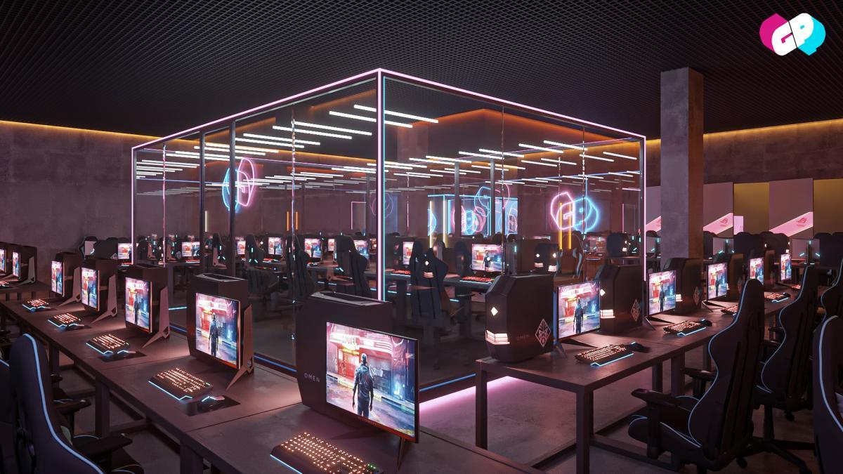 Новая киберспортивная арена / фото GetInPro