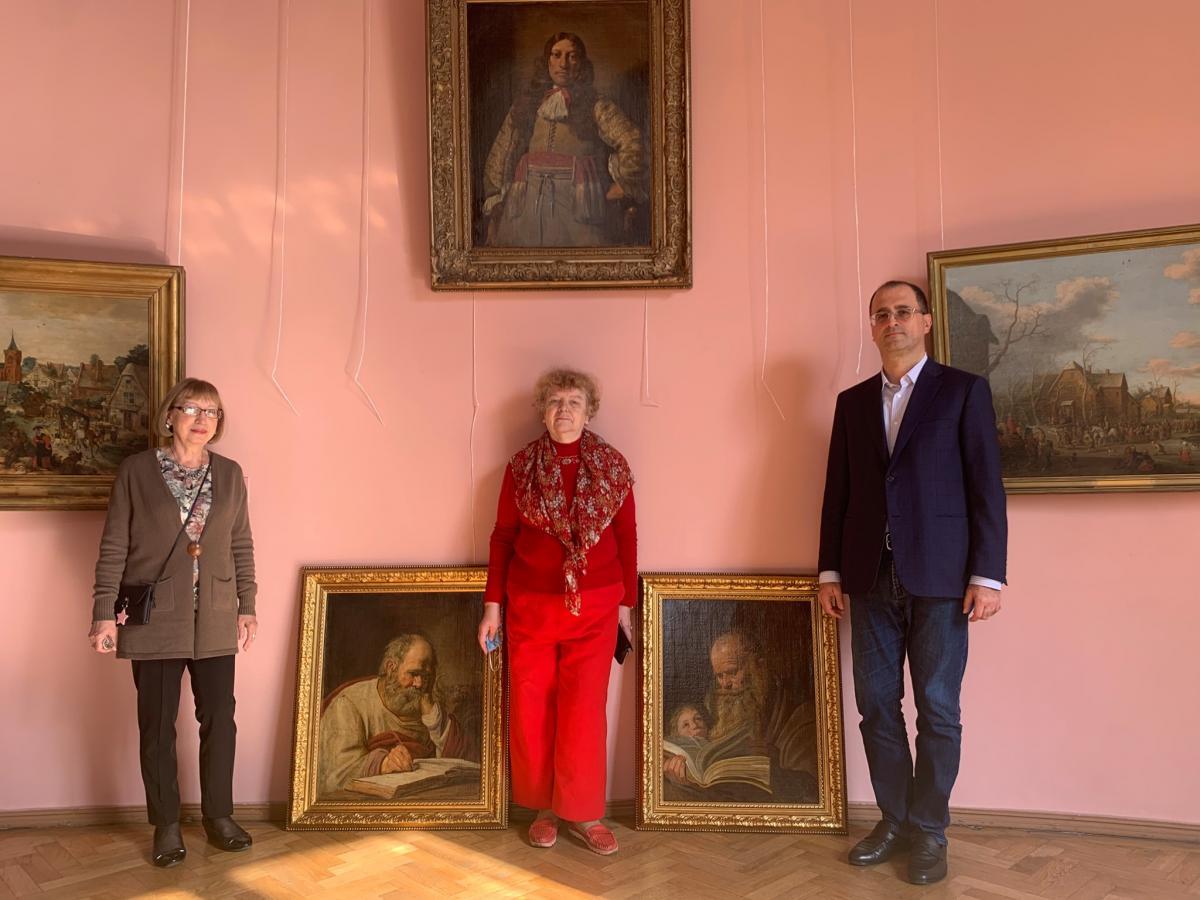 До Одеси повернулися шедеври Франса Хальса, знайдені після Другої світової війни на Привозі