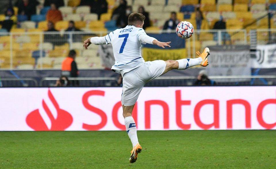 У першому турі Динамо програло Ювентусу / фото ФК Динамо Київ