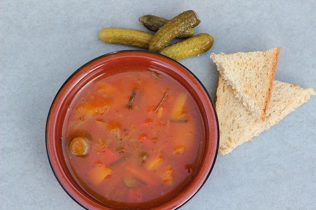 Рецепт грибной солянки / фото pinterest.com