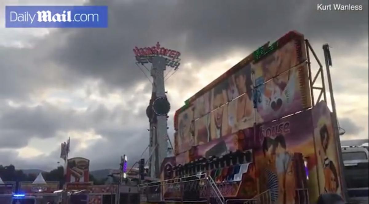 Полиция расследует версию, что девушку неправильно пристегнули/ скриншот из видео