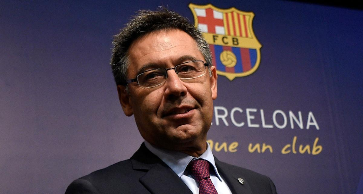 Бартомеу займав свій пост з 2014 року / фото twitter.com/FCBarcelona